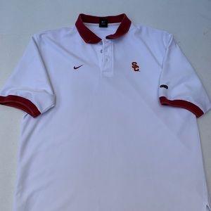 Nike Shirts - Nike Dri fit USC Polo Shirt